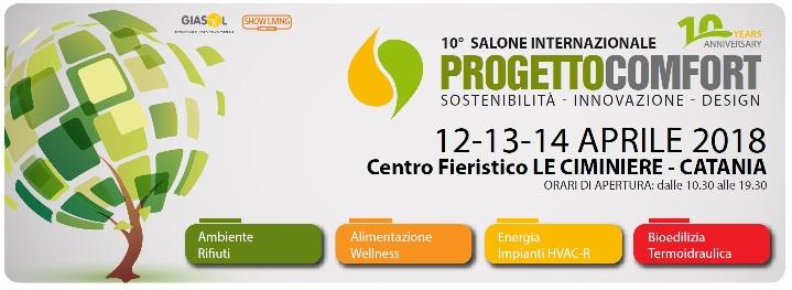 PROGETTO COMFORT Catania 2018