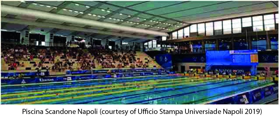 UNIVERSIADI Napoli 04 Luglio 2019